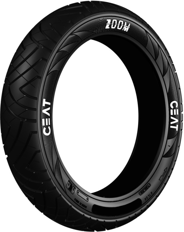 CEAT 120/80-17 ZOOM 120/80-17 Rear Tyre(Dual Sport, Tube Less)
