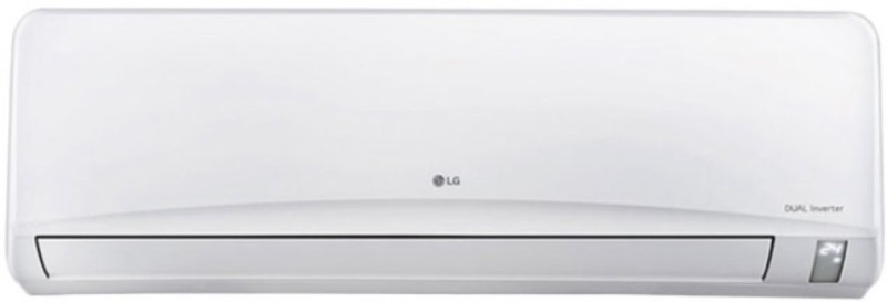 LG 1 Ton 3 Star BEE Rating 2018 Inverter AC - White(JS-Q12NUXA1, Copper Condenser)