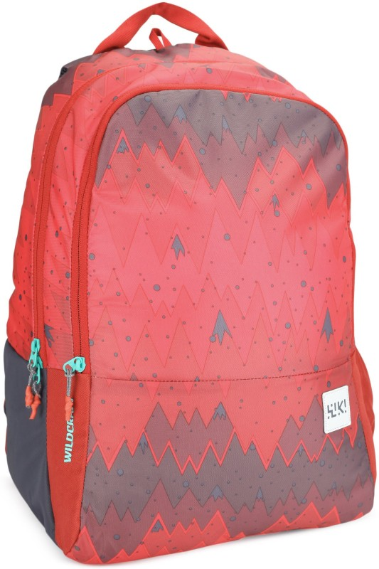 Wildcraft Wiki 1 Ombre 29.5 L Backpack(Red)