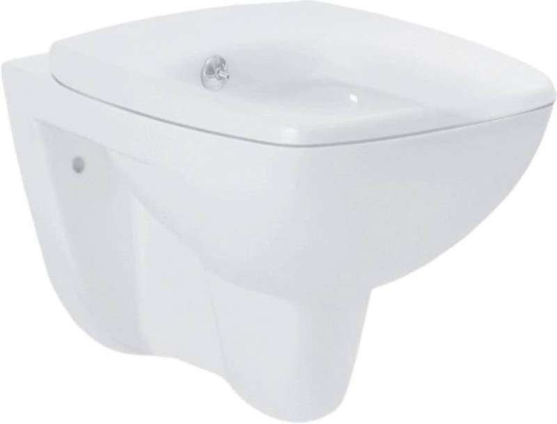 Hindware Extended Water Closets WM ENIGMA Integrated Jet Flush 92501 (Starwhite) Western Commode(Starc White)