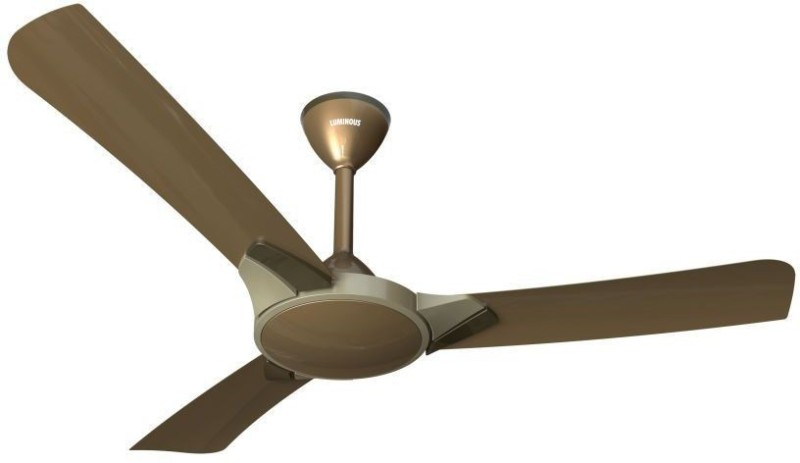 Luminous Copter 3 Blade Ceiling Fan(CARAMEL KHAKI)