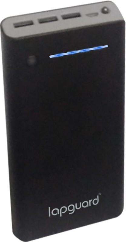 Lapguard 20000 mAh Power Bank (LG805_20K)(Black, Lithium-ion)