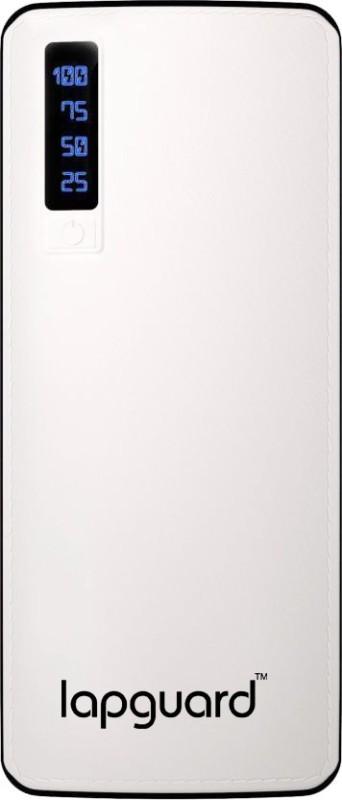Lapguard 10000 mAh Power Bank (LG520_10K)(White, Lithium-ion)