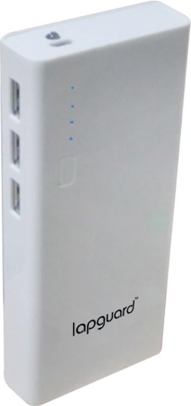 Lapguard 10000 mAh Power Bank (LG514_10K)(White, Lithium-ion)