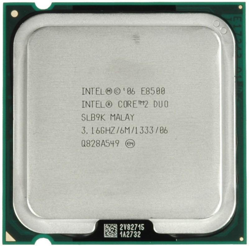 Intel 3.16 GHz LGA 775 e 8500 Processor(Silver) image