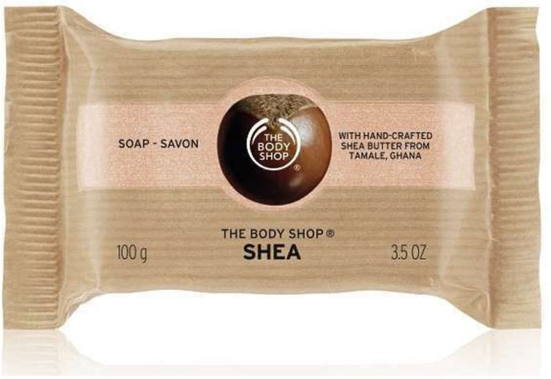 The Body Shop SHEA SOAP SAVON WITH HAND CRAFTED(100 g)