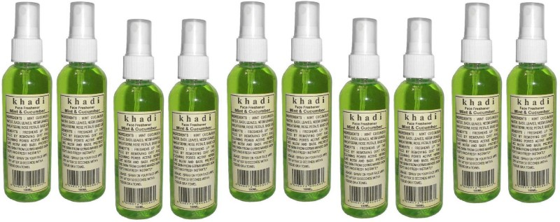 Khadi Herbal MINT & CUCUMBER FACE FRESHENER(1000 ml)