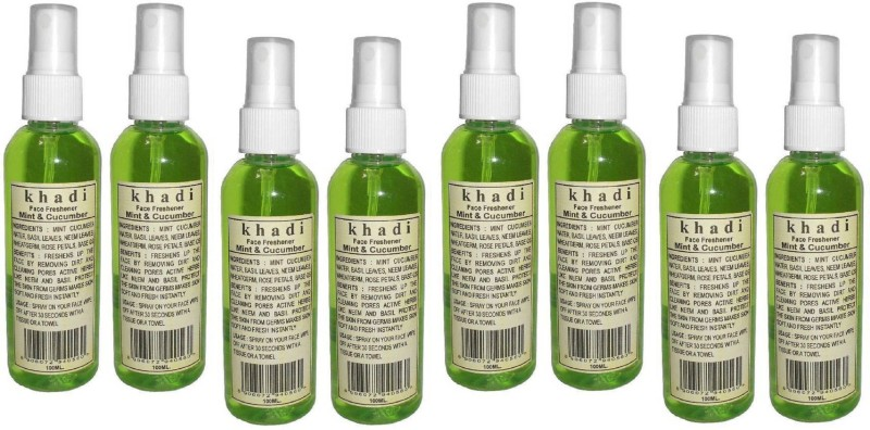 Khadi Herbal MINT & CUCUMBER FACE FRESHENER(800 ml)