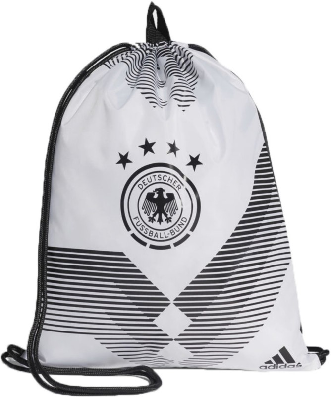 ADIDAS DFB GYM BAG 18 L Backpack(White)