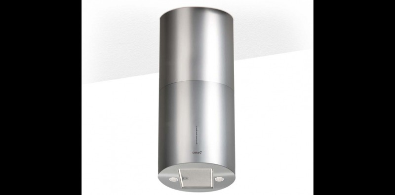 Cata Isla Faro X (with free coffee maker from giftipedia) Ceiling Mounted Chimney(Stainless Steel 1200)