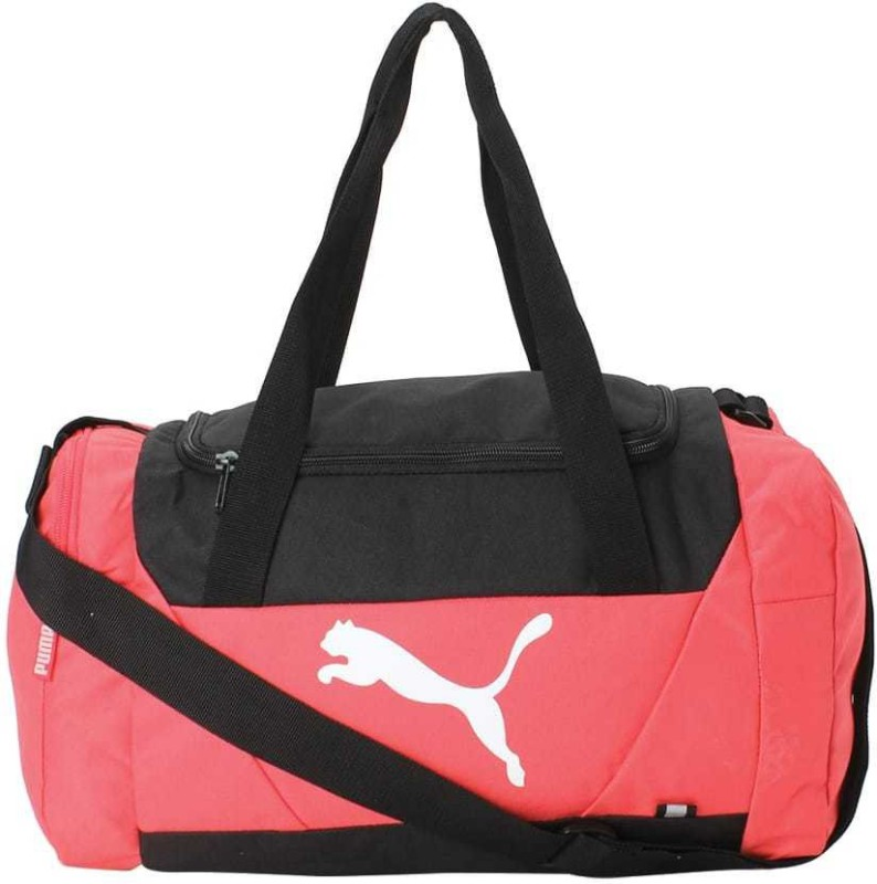 Puma Fundamentals Sports Bag XS Travel Duffel Bag(Pink)