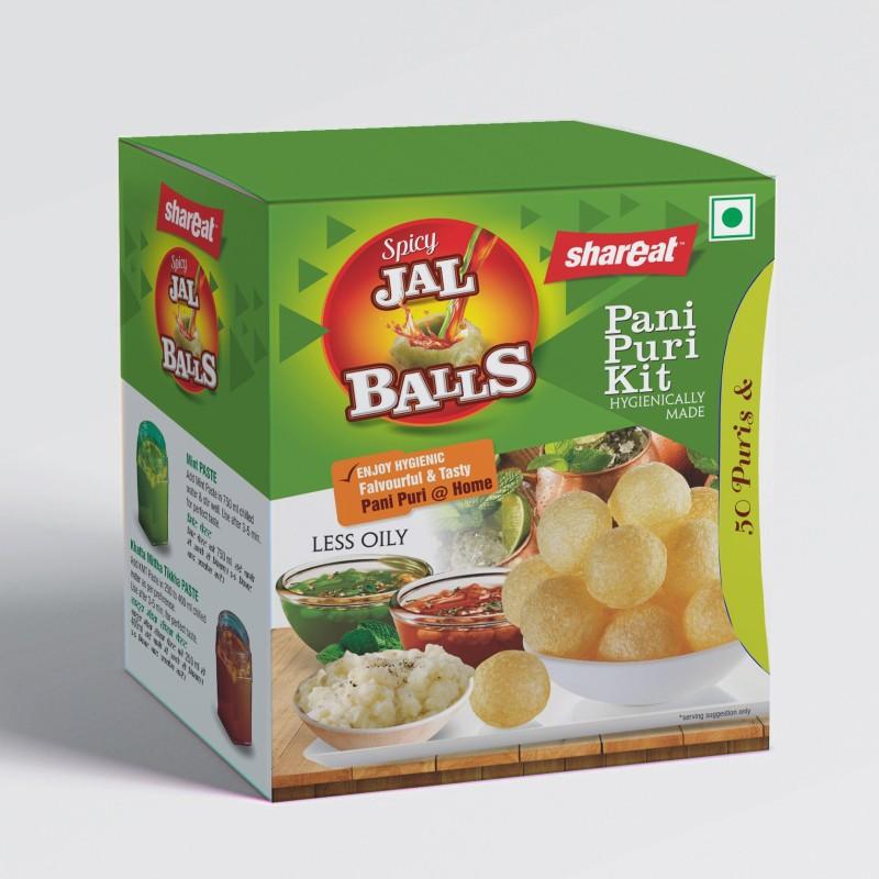 Shareat JalBalls Pani Puri Kit 265 g
