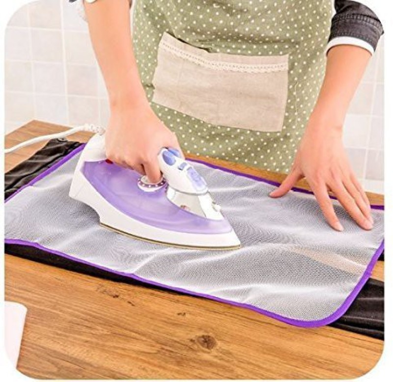 Perfect Life Ideas Ironing Pad Cover Mat Sheet Protective Insulation Scorch Mesh Cloth- Assorted Color Ironing Mat(Nylon)