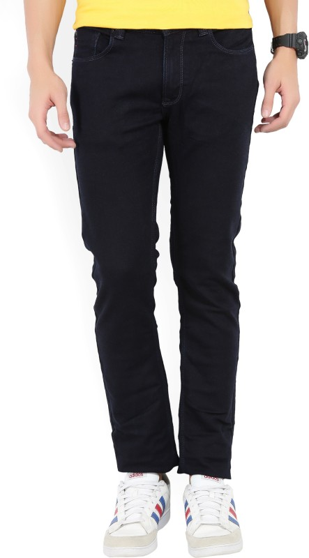 Spykar Slim Men Black Jeans