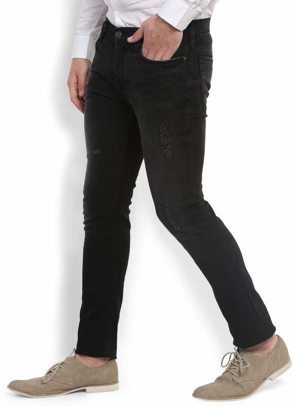 French Connection Skinny Mens Black Jeans