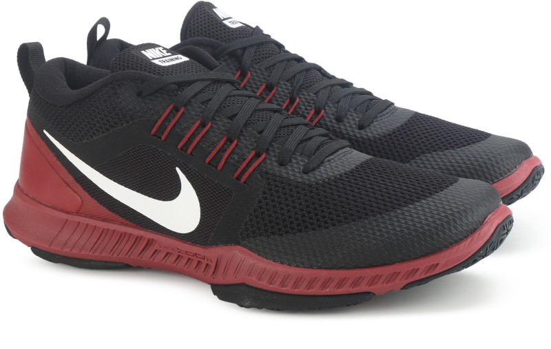 Nike ZOOM DOMINATION TR Training Shoes For Men(Black, Maroon)