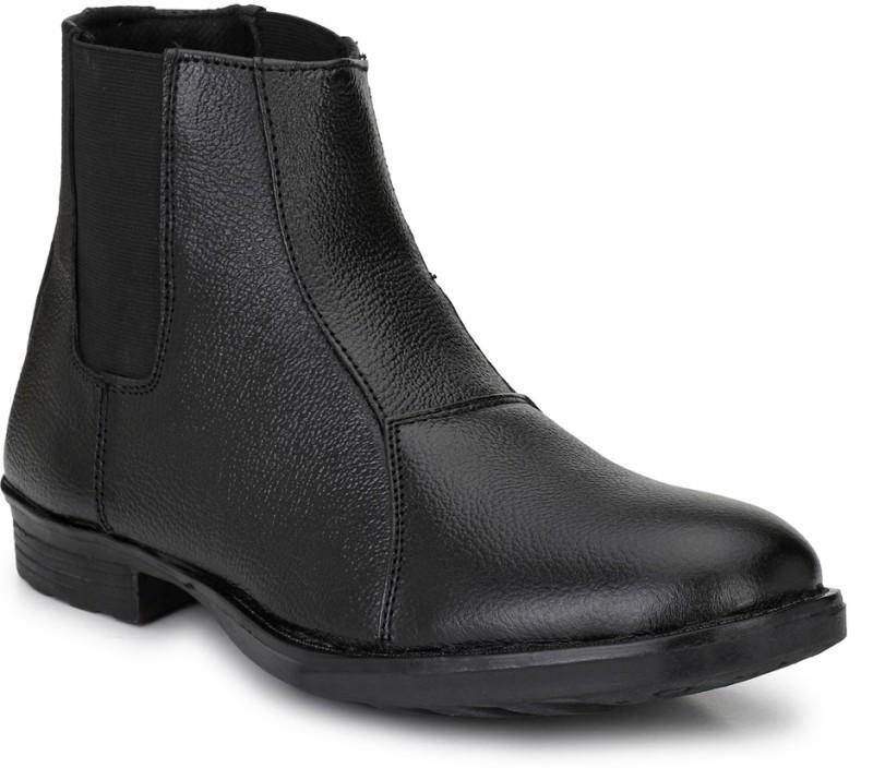 Mactree Trust Boots For Men(Black)