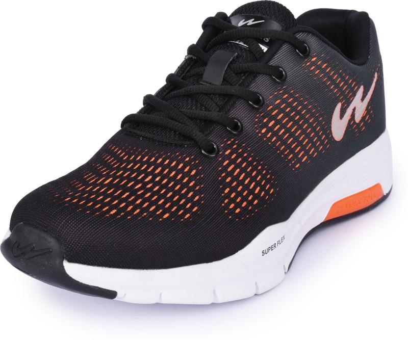 Campus QUANTUM Running Shoes For Men(Black)