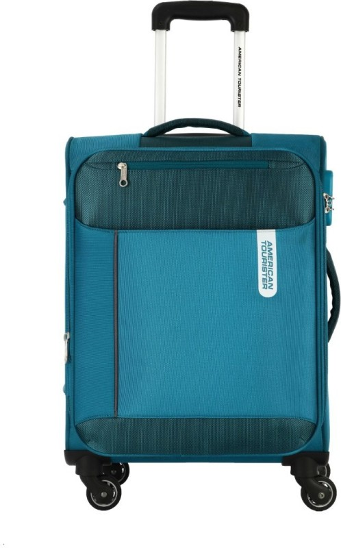 American Tourister Portugal SP Expandable Cabin Luggage - 22 inch(Blue)