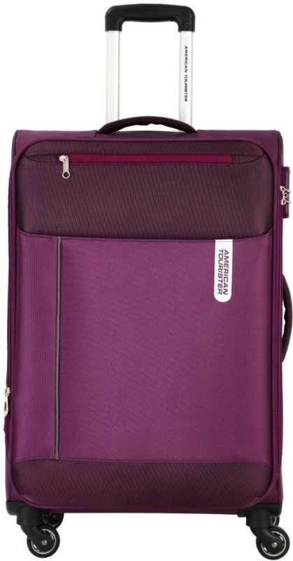 American Tourister Portugal SP Expandable Cabin Luggage - 22 inch(Purple)