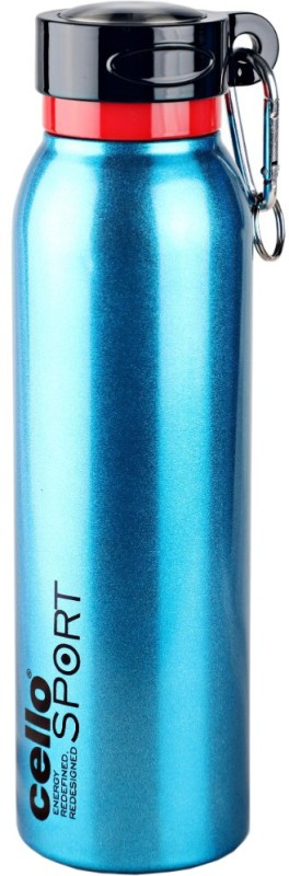 Cello Sport 550 ml Flask(Pack of 1, Black, Blue)