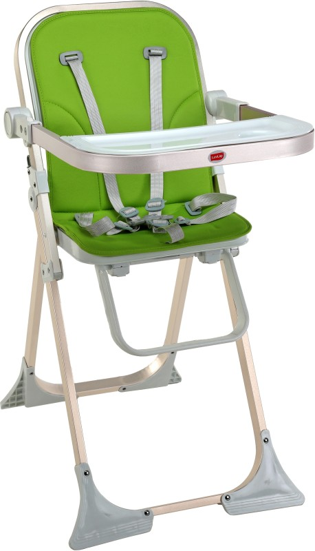 LuvLap Comfy High Chair(Green)
