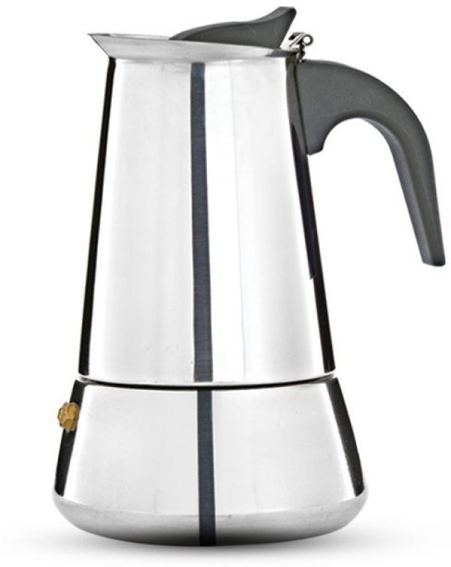 Pigeon Coffee perculator xpresso -4 4 Coffee Maker(Silver)