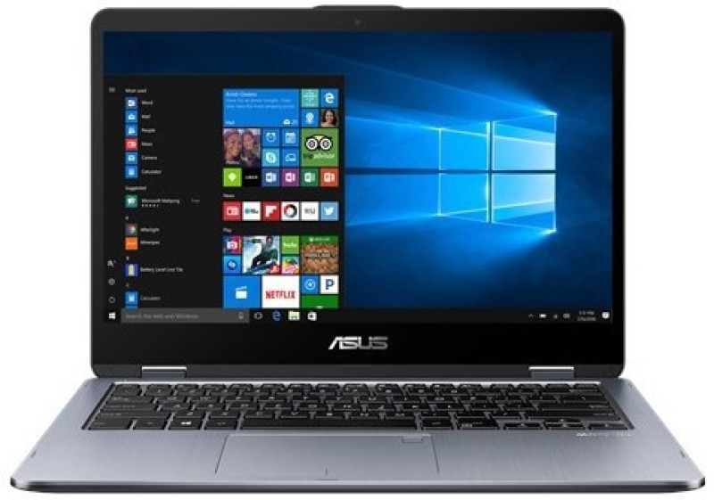 Asus TP410UA Core i3 7th Gen - (4 GB/1 TB HDD/128 GB SSD/Windows 10 Home) TP410UA-EC509T 2 in 1 Laptop(14.1 inch, Grey) image