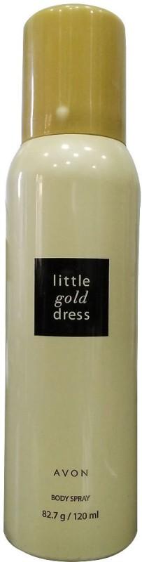 Avon Little Gold Dress Body Spray Body Spray  -  For Women(120 ml)