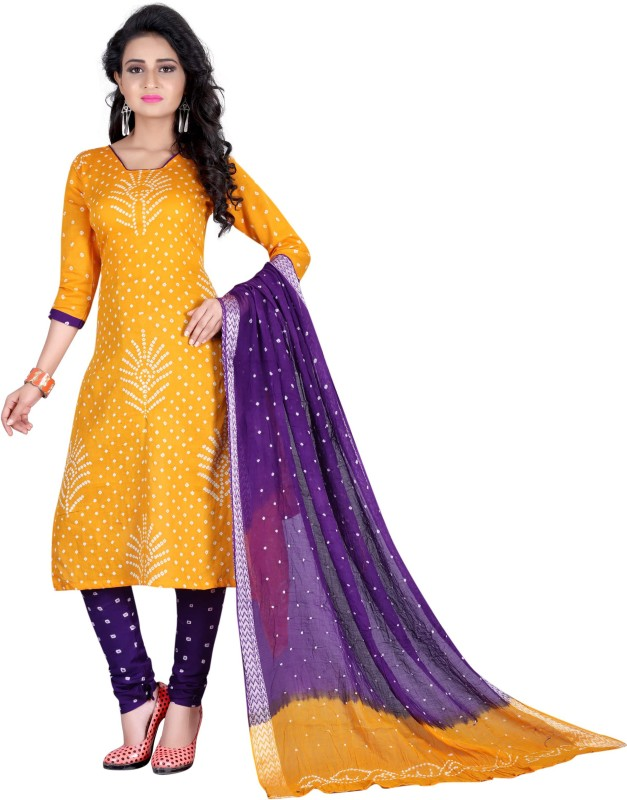 Dealsure Printed Kurta & Salwar(Stitched)