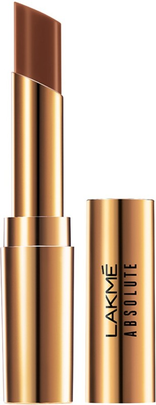 Lakme Absolute Argan Oil Lip Color(3.4 g, 20 Burnt Brown)