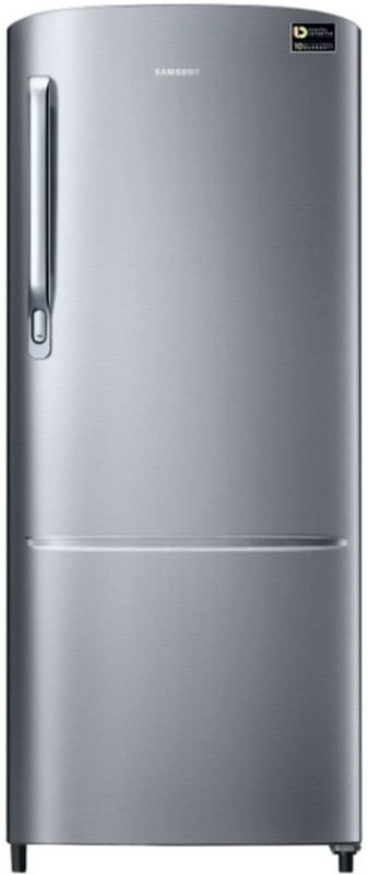 Samsung 192 L Direct Cool Single Door 4 Star Refrigerator(Elegant Inox, RR20N172YS8-HL/RR20N272YS8-NL)