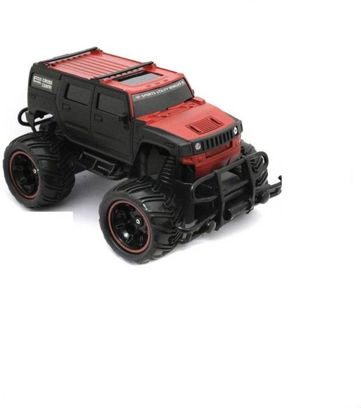 Zombi Red And Black Mad Racing Cross- Country Remote Control Car(Red)