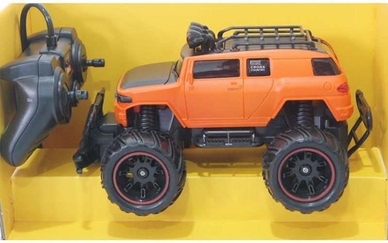 Zombi Orange Mad Racing Cross- Country Remote Control Car(Orange)