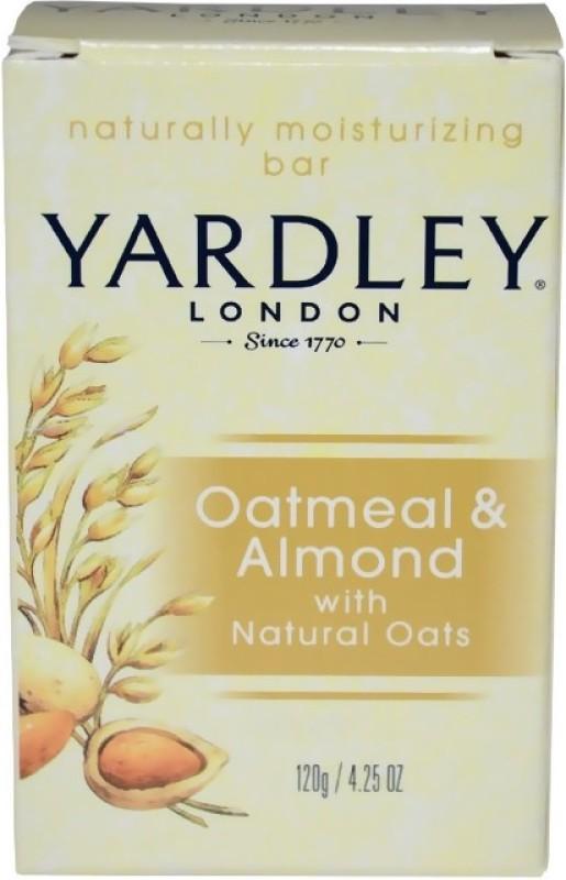 Yardley London Oatmeal & Almond Bar(120 g)