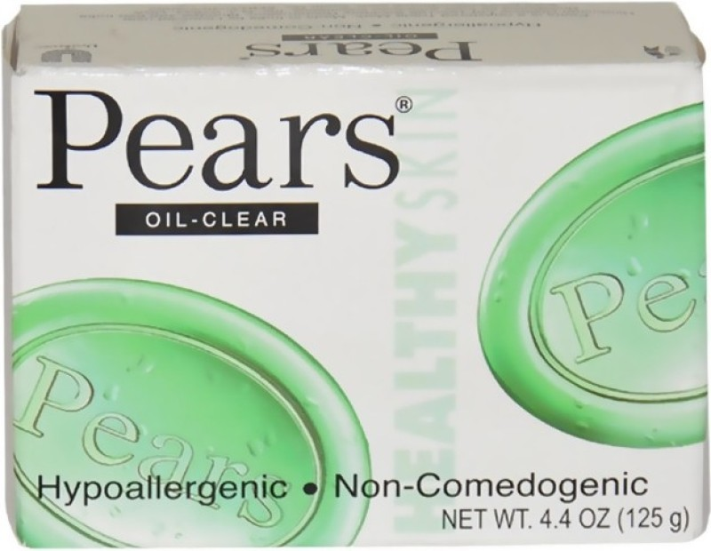Pears Oil Clear(125 g, Pack of 3)