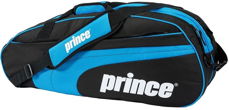 Prince Club 6 Pack Tennis Bag (Black/Blue) Tennis Bag(Blue, Backpack)