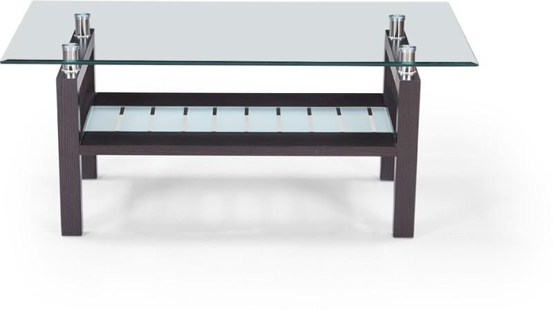 RoyalOak Barcelona Engineered Wood Coffee Table(Finish Color - Dark Brown)