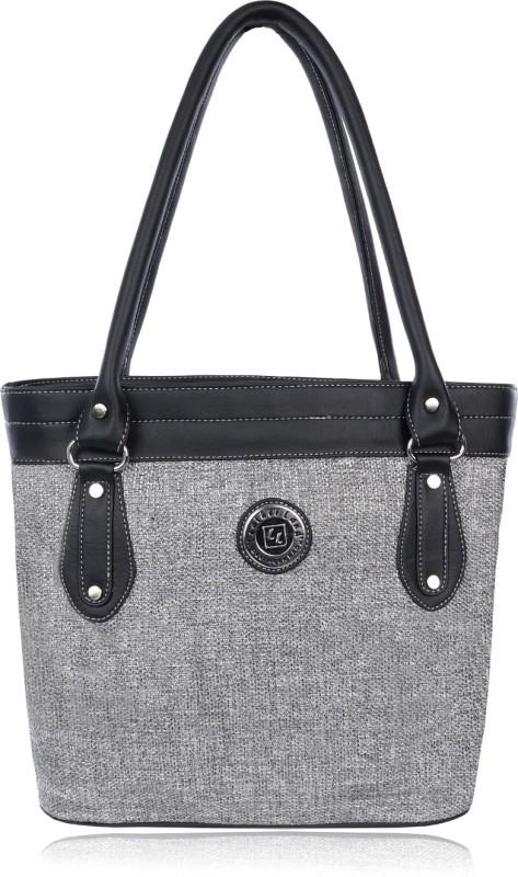 Leather Land Women Black, Grey Shoulder Bag