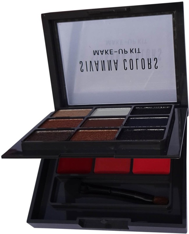 KASCN ORIGINAL HIGH QUALITY SIVANNA COLORS MAKE -UP KIT EYESHADOW & LIP PALETTE FOR ALL SKIN TONE (HF-682/01)