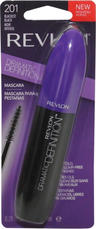 Revlon Dramatic Definition 8 ml(201 Blackest Black)
