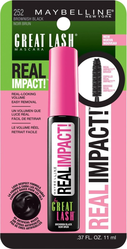Maybelline Real Impact 11 ml(Brownish Black)