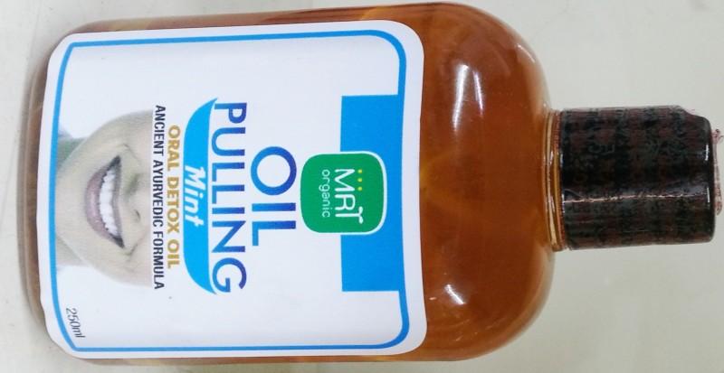mrtorganic Oil Pulling Mint Flavour - Mint(250 ml)