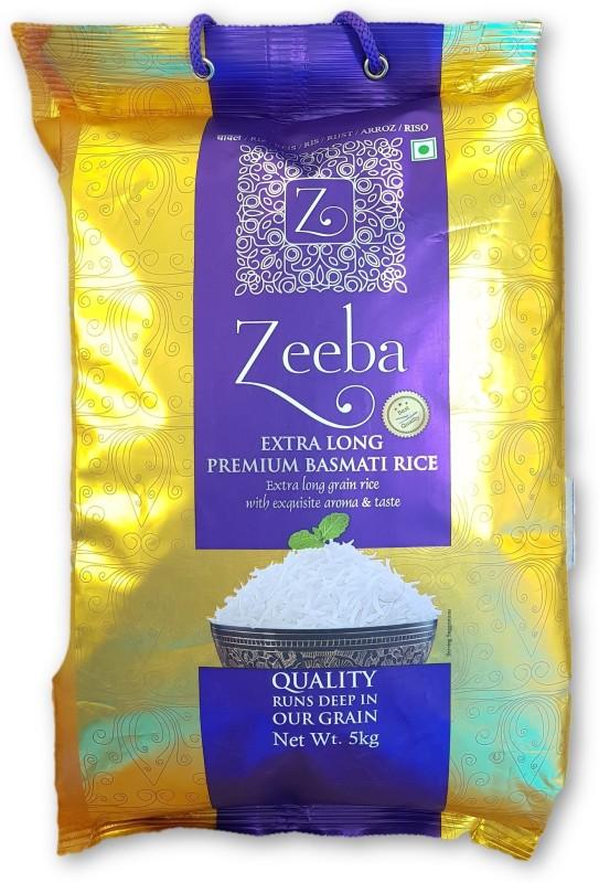 Zeeba Basmati Rice- 5 KG Basmati Rice (Long Grain)(5000 g)