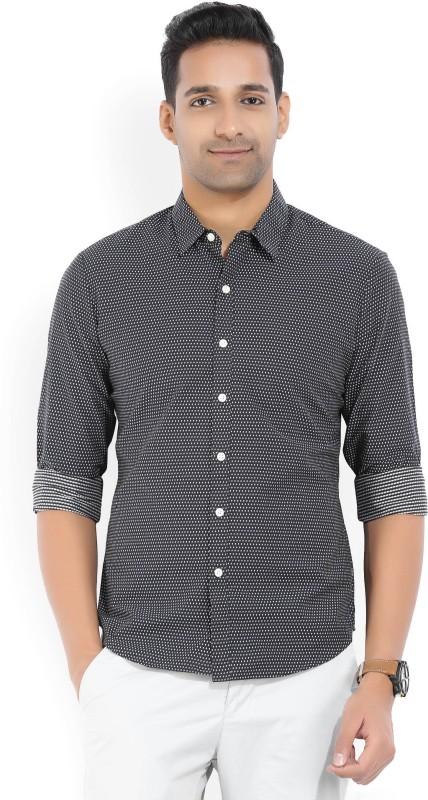 Levis Mens Self Design Casual Spread Shirt
