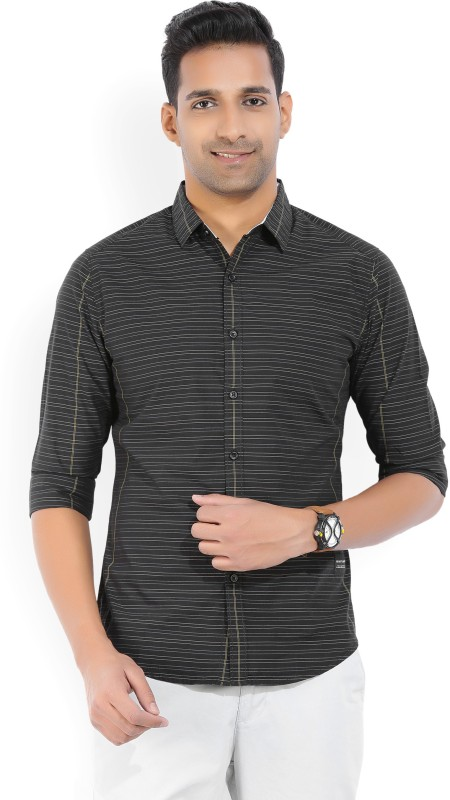 Levis Mens Striped Casual Spread Shirt
