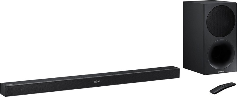 Samsung HW M450/XL 320 W Bluetooth Soundbar(Black, 2.1 Channel)