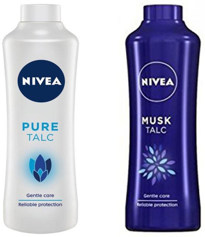 Nivea MUSK TALC+PURE TALC(200 g)