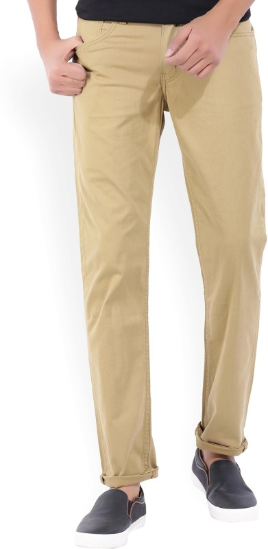 Levis Slim Fit Mens Brown Trousers