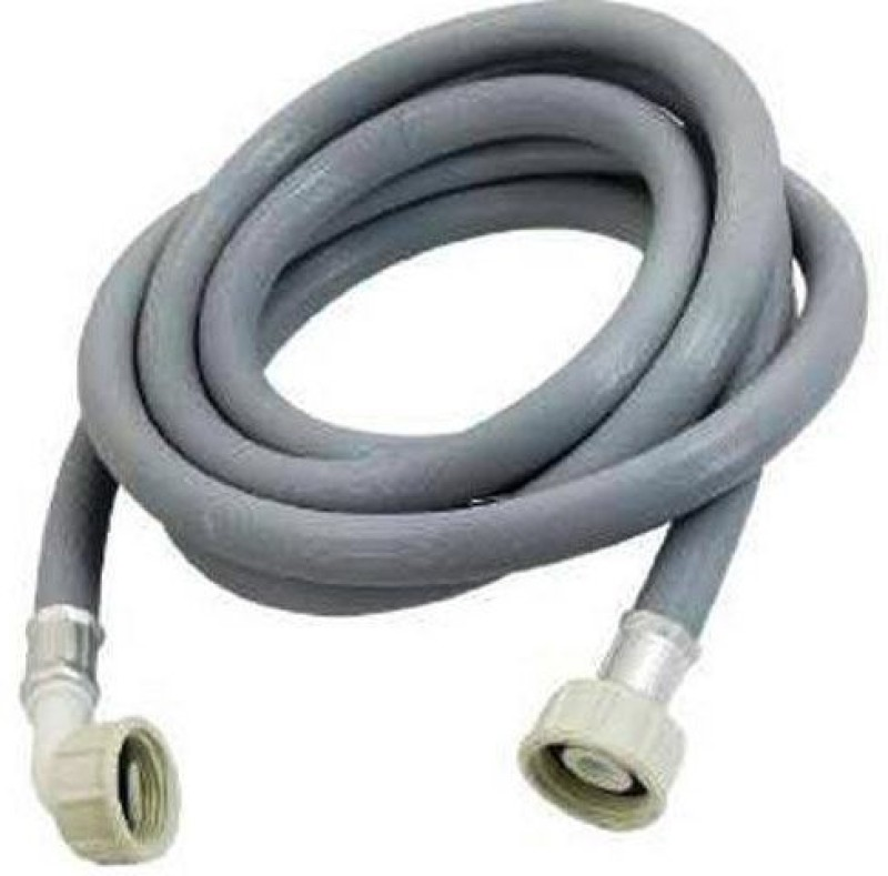 PK Aqua Pooja Trendz 3 METER Inlet Hose Pipe Suited/Compatible for Front Loading Washing Machines + Faucet Tap Adapter Set. Washing Machine Inlet Hose(3)